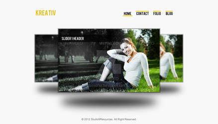 Kreative HomePage Sample