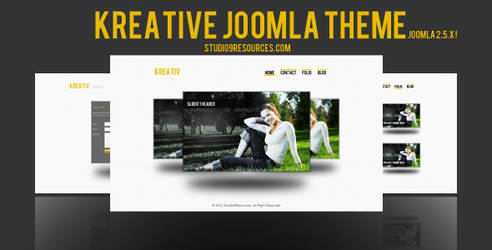 Kreative Joomla Theme Avalialbe For Sale !