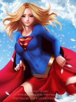 Super Girl by Nefrubi