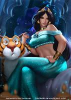 Princess Jasmine by Nefrubi