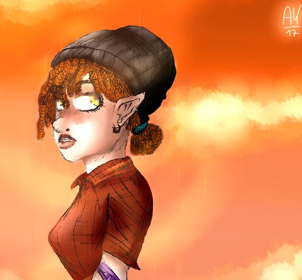 Asgael Girl by Schinkn