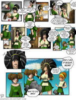 Toph Age Progression | Avatar | Commission by Schinkn