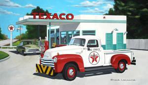 50 Chevy Texaco truck