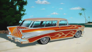 57 Chevy Nomad Hollingsworth