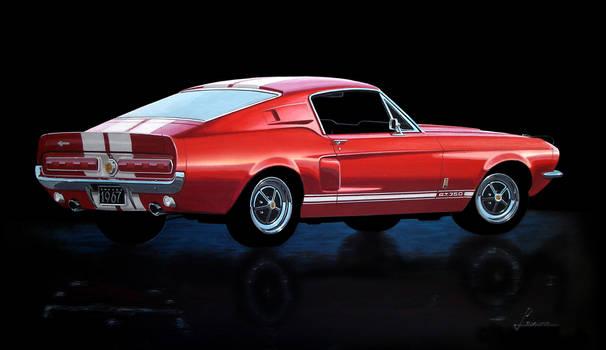 67 Mustang Shelby GT 350 rear