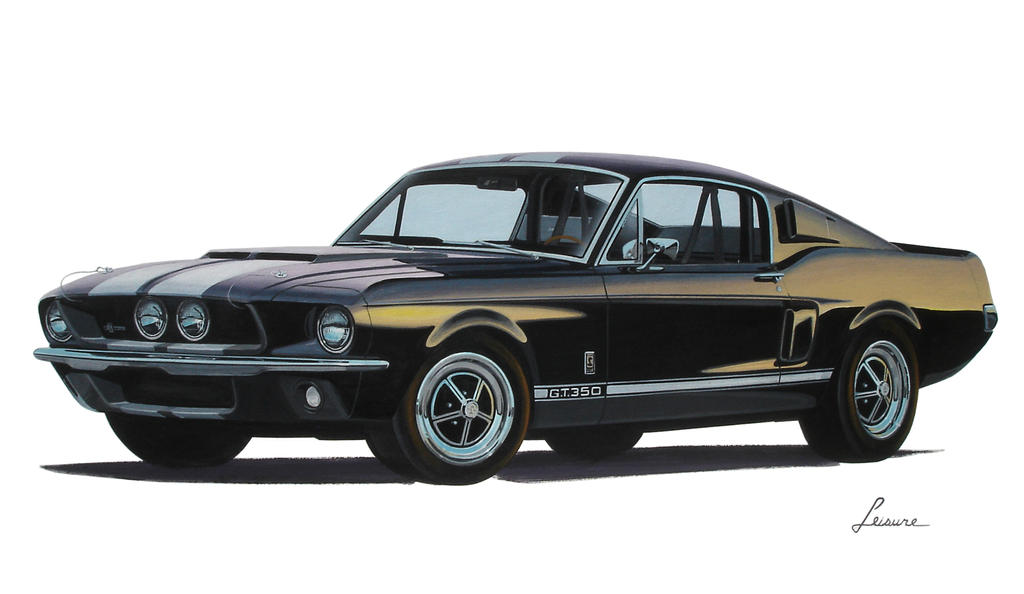 67 Mustang Shelby GT350 front