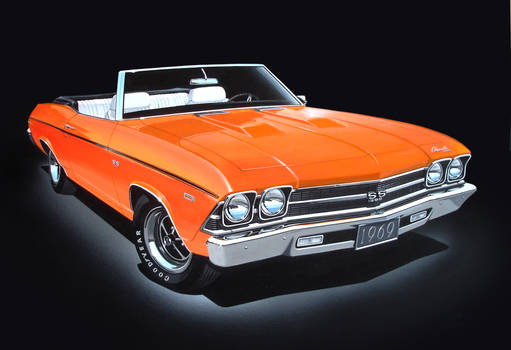 69 Chevy Chevelle SS 396 Convertible