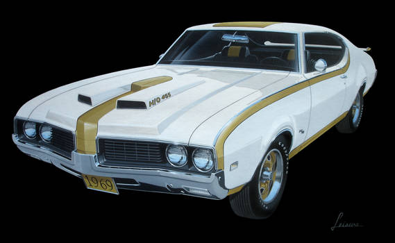 69 Olds 442 H-O 455 front