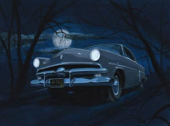 53 Ford at Night