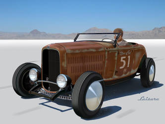 32 Ford Lakester Rusty