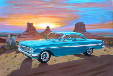 '61 Chevy Impala SS Hardtop