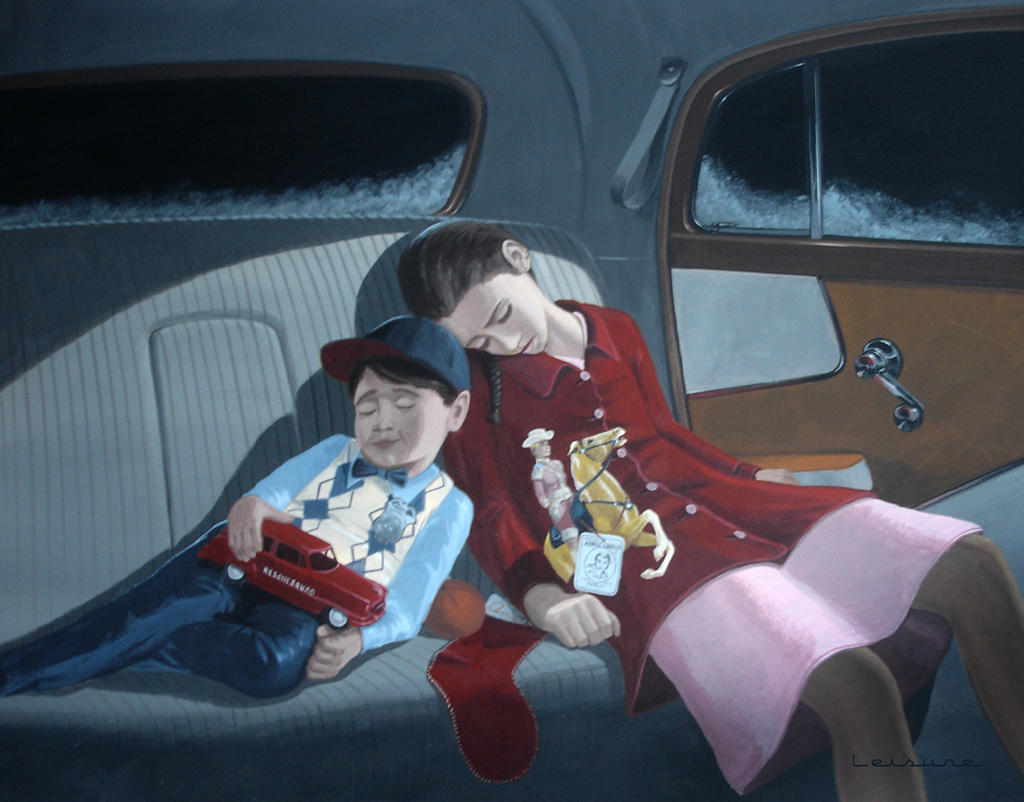 Kids In The Backseat Christmas