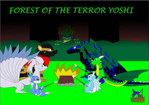 forest of the terror yoshi by lightningthedragon10
