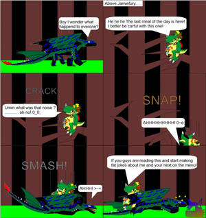 forest of the terror yoshi bylightningthedragon10