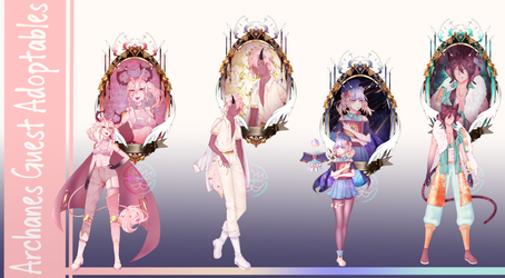 [OPEN 3/4] Archanes Guest Adoptables Auction by Wintaa