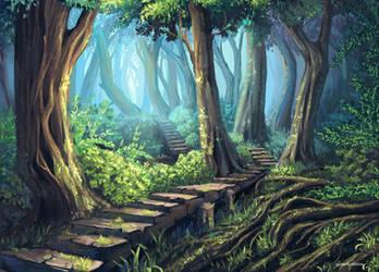 Forest by Gulakova-Viktoria