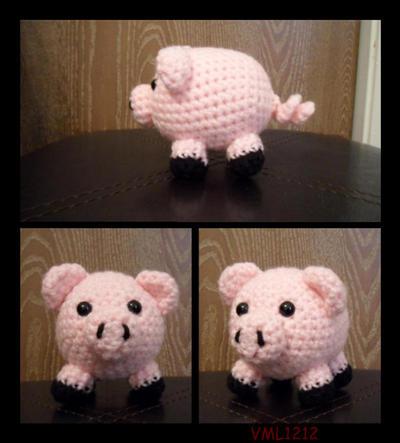Peppa Pig Amigurumi Free Crochet Pattern ⋆ Crochet Kingdom | 443x400