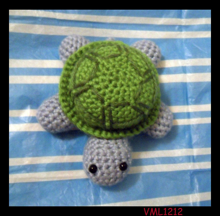 Amigurumi Turtle Crochet Patterns : Amigurumi turtle by vml on deviantart