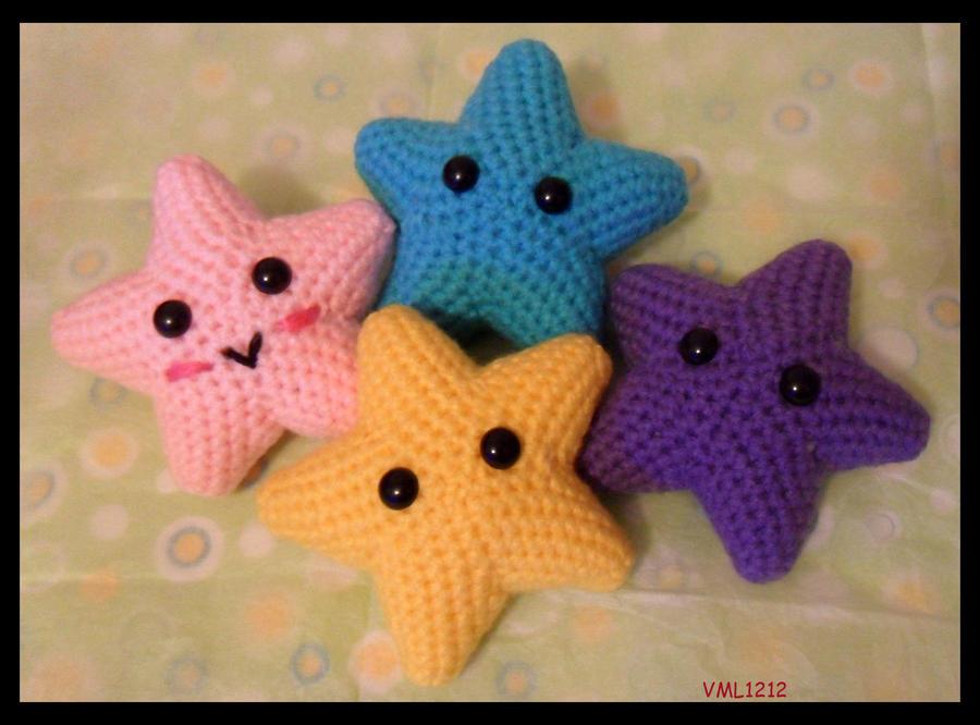 Amigurumi All Star : Stars by VML1212 on DeviantArt