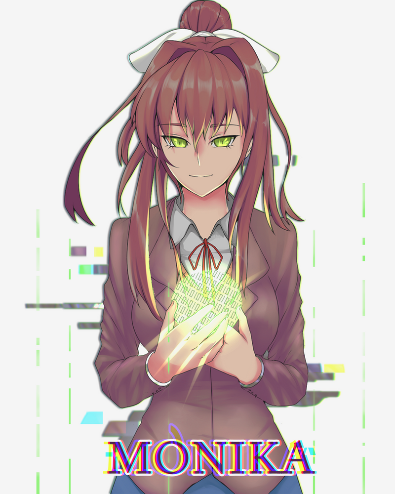 Monika's Soul (Commissioned by WilliamJCM) by SecondaryEminence