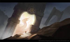 The Phoenix Gate by Maximilien-Serpent