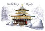 Kinkaku-ji by Maximilien-Serpent