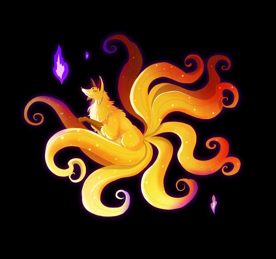 Golden Kitsune