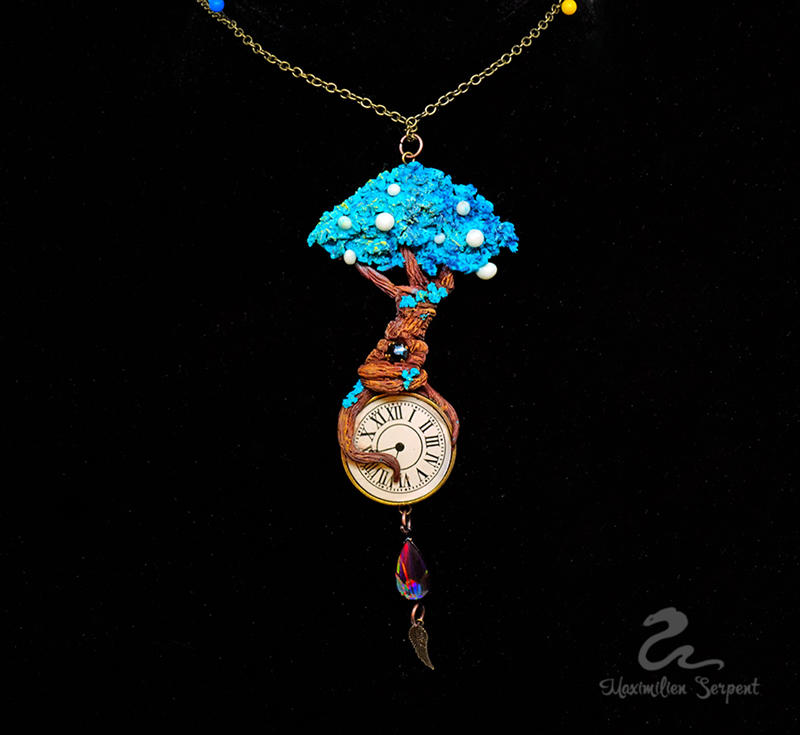 Tree  of Time Pendant