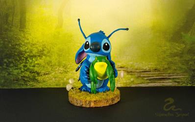Stitch figurine