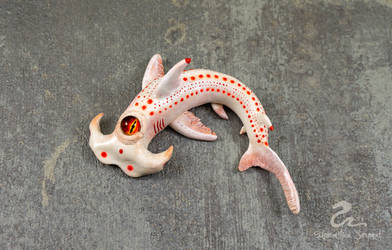 White Nightmare Hammerhead Shark