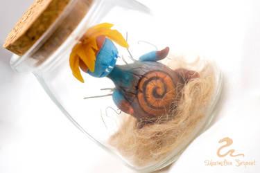 Blue Claustrophobic Mandrake