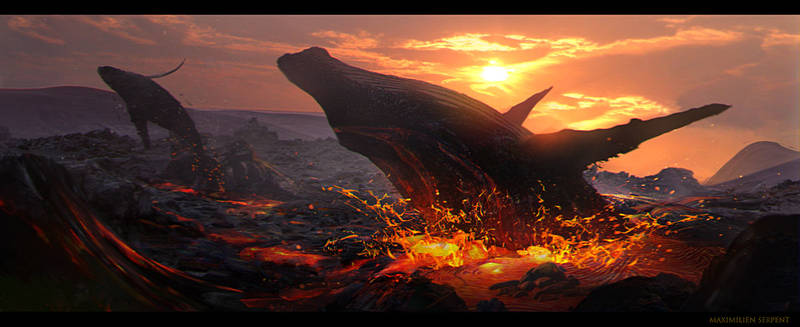 Volcanic Whales