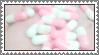 pastel pills - stamp