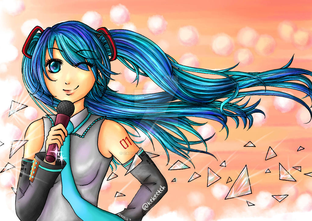 Miku by CathNathtistic