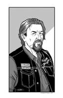 Sons of Anarchy Chibs - Commission by ChiaraDiFrancia