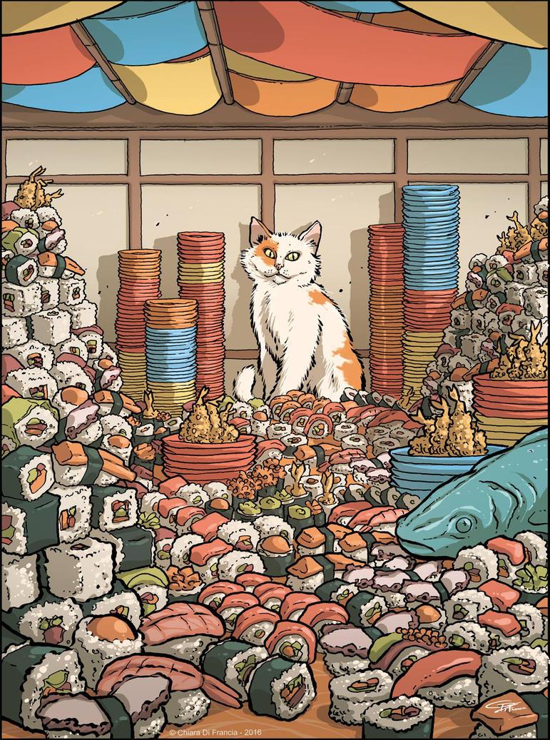 Sushi Love by ChiaraDiFrancia