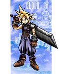 Ff7 Cloud by zombies-lover