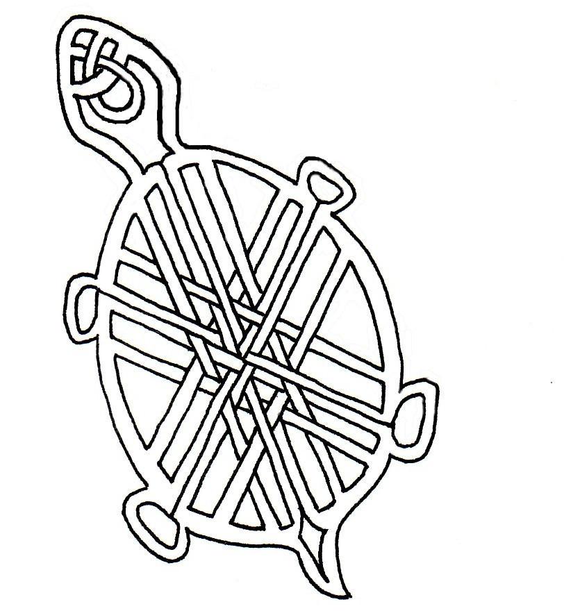 Turtle Line Drawing Tattoo : Celtic turtle line drawing by tarniqua on deviantart