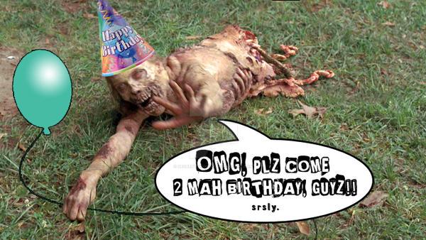 plz come 2 mah birthday! by decrepitmonkey