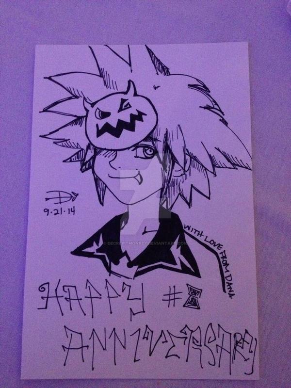 Halloweentown Sora by decrepitmonkey