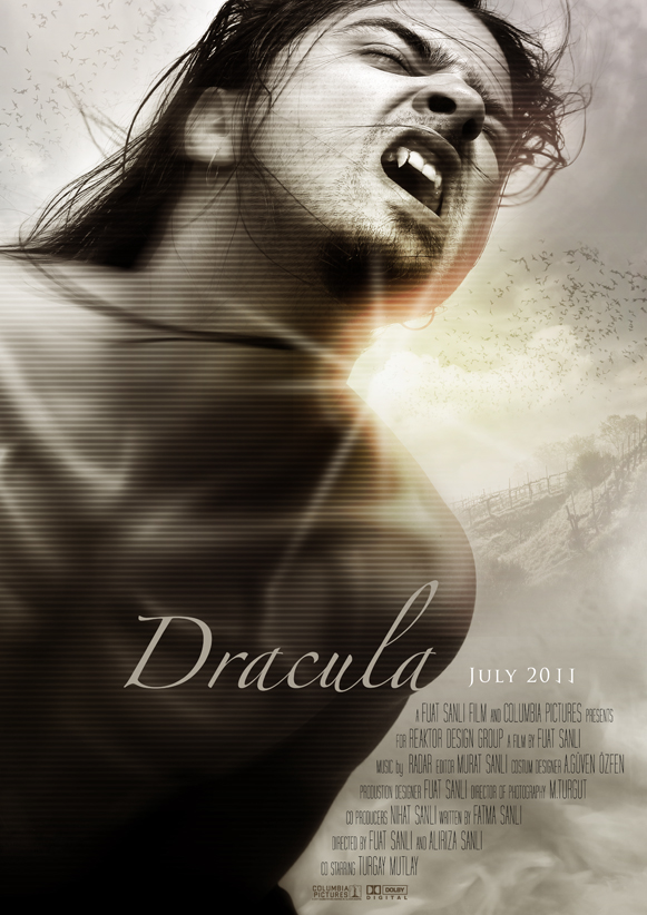DRACULA MOVIE POSTER by kungfuat