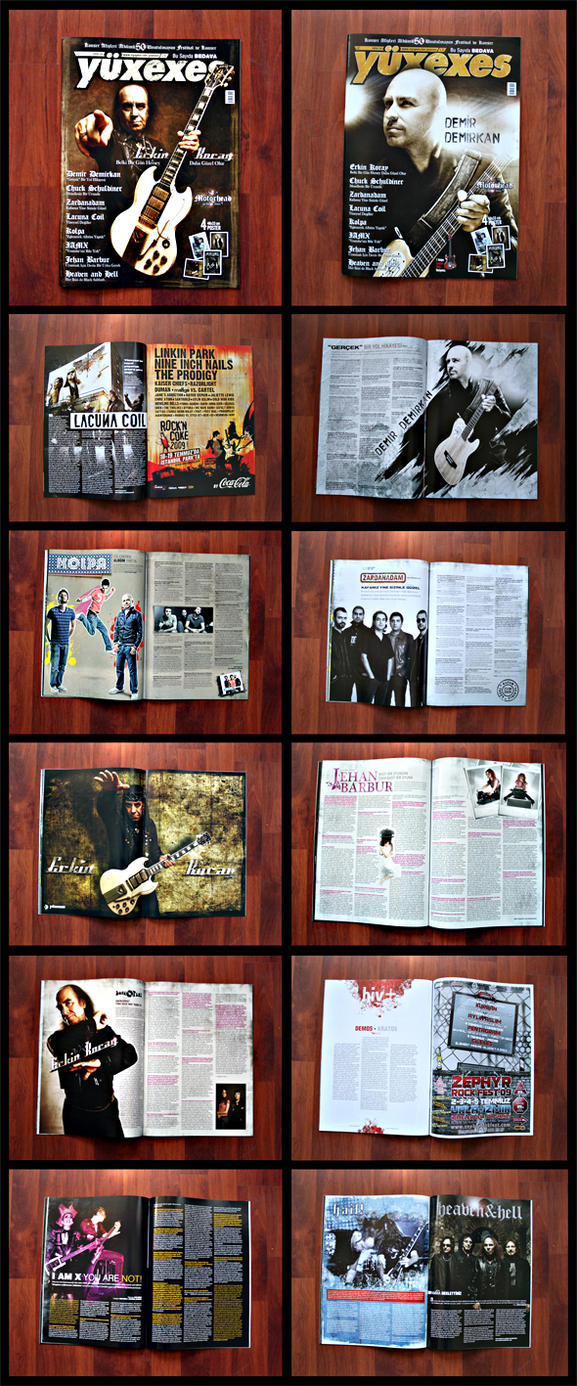 YUXEXES MAGAZINE ALL PAGES by kungfuat
