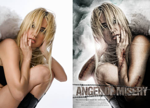 ANGEL OF MISERY MOVIE POSTER