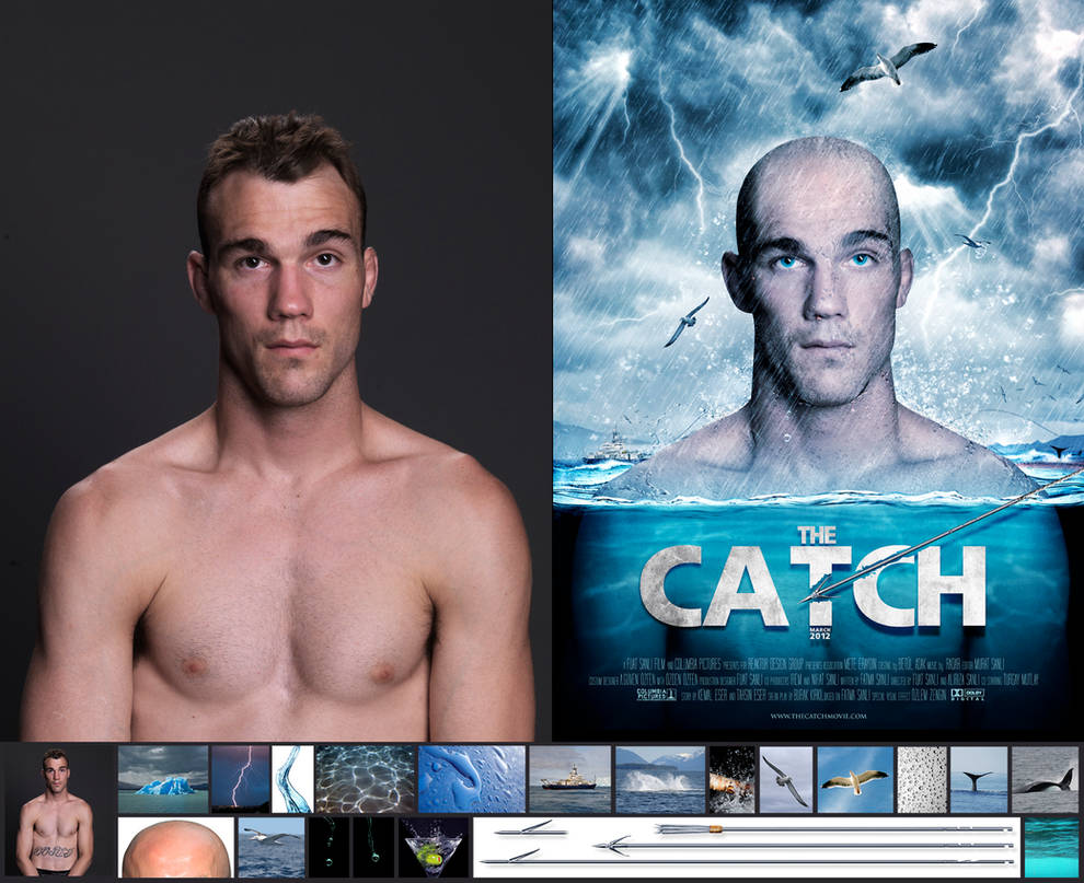 THE CATCH MOVIE POSTER by kungfuat