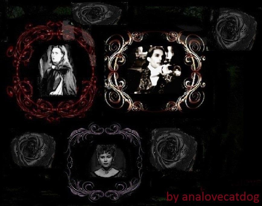 Gothic Vampire Family By Analovecatdog