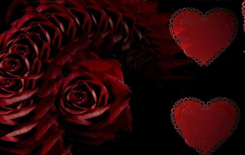 roses hearts  i love you by analovecatdogI Love You Hearts And Roses