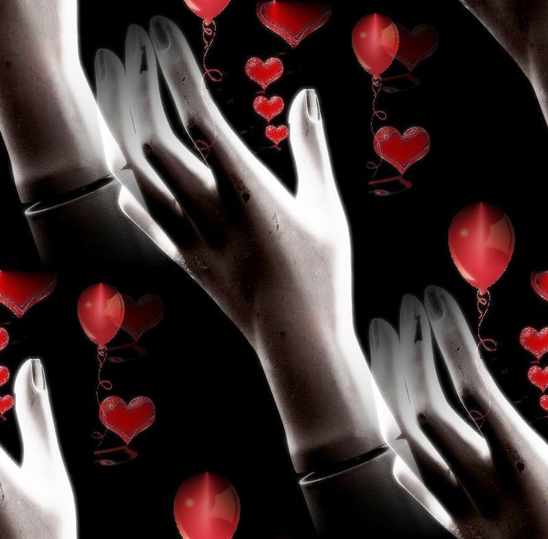 Happy Birthday Heart Balloons Happy Birthday Hearts Hands