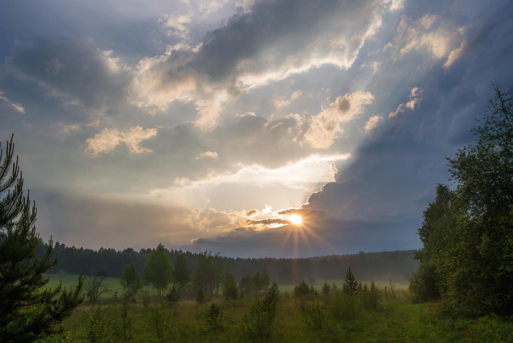 Banks of Chusovaya river by Nitisara