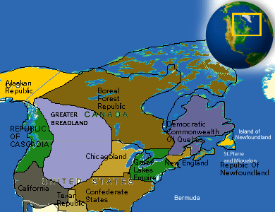 Superb Future Map Of North America By Bcasey25raptor ...