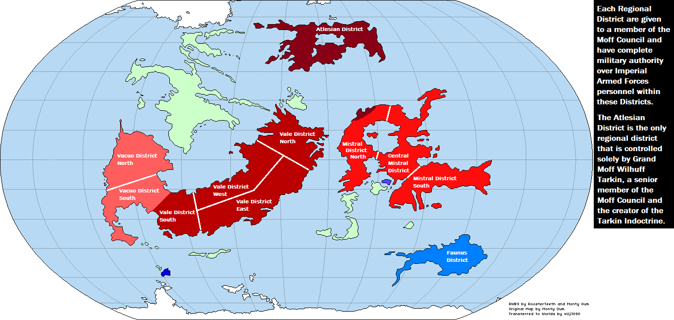 Ascension of an Apprentice - Regional Districts